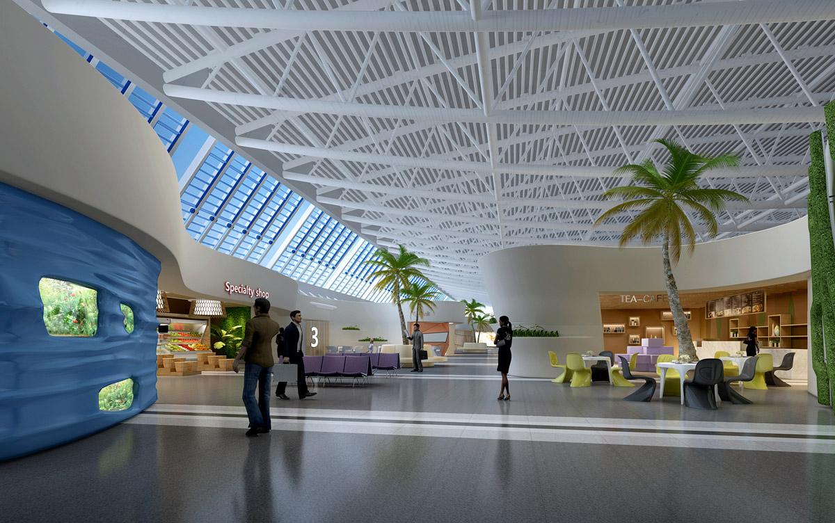 三亚凤凰机场改建