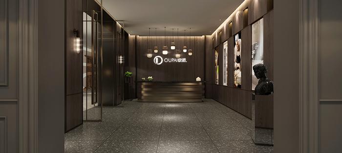 北京欧谷手机专营店_欧派木门专卖店-作品案例-杭州设谷空间设计有限公司